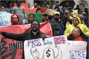 Vendors Rally At City Hall
