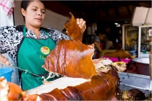 Crispy pork skin - Bali