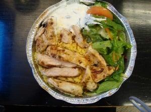 Chicken breast platter from Carnegie John's cart (2)