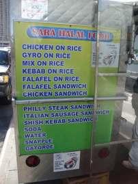 Sara menu
