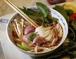 Slow cooked beef pho