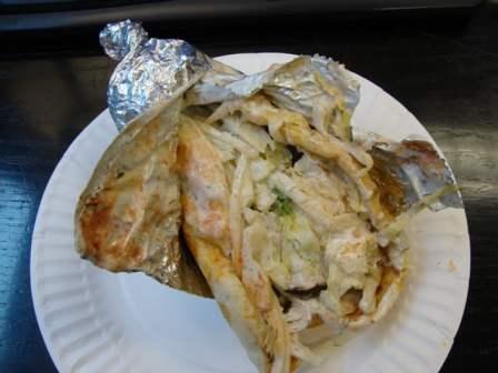 Chicken gyro
