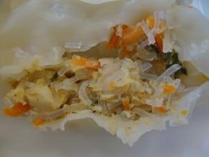 dumpling open