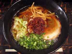 ramen (not the $110 bowl)