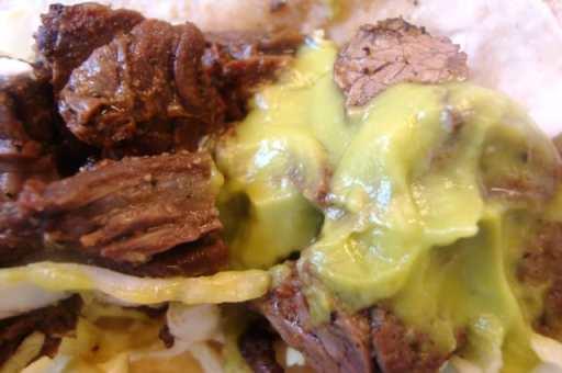 carne asada closeup