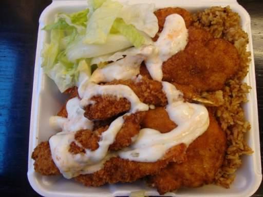Shrimp & flounder combo platter