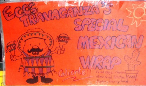 menu Mexican Wrap