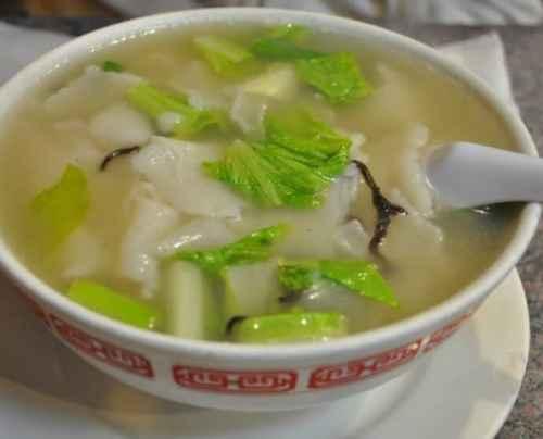 Fujianese rice soup