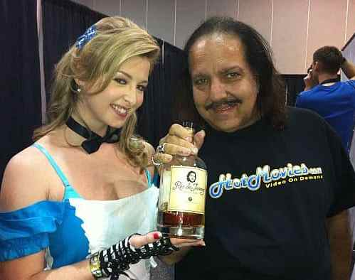 """Sunny Lane & Ron Jeremy - stars of """"The Flying Pink Pig"""""""