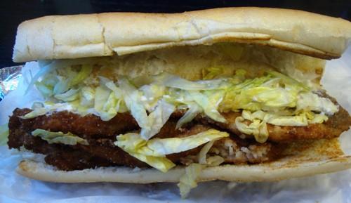 sandwich open