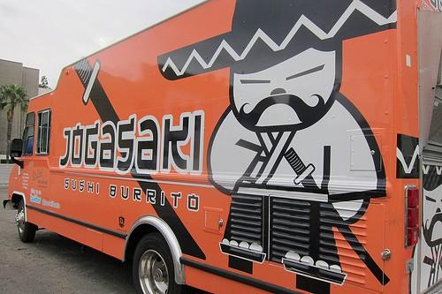 Jogasaki truck by Guzzle & Nosh