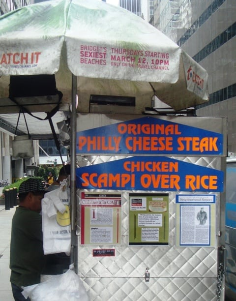 Thai Food Cart Th And Park Ave