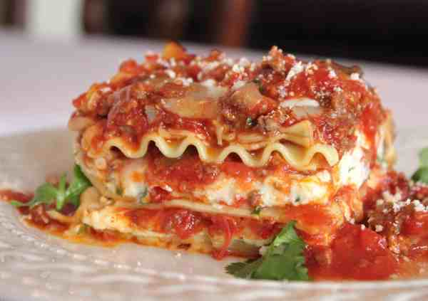 Tasting lasagna bolognese at now eat this new york street food it was founded by celebrity chef rocco dispirito last november in conjunction with the release of his cookbook forumfinder Image collections