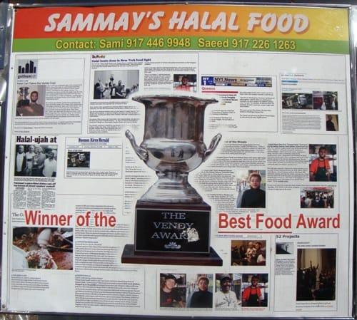 Sammy's Halal Food (credit: NYSF)
