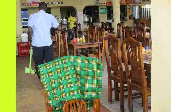 Cleaning restaurants
