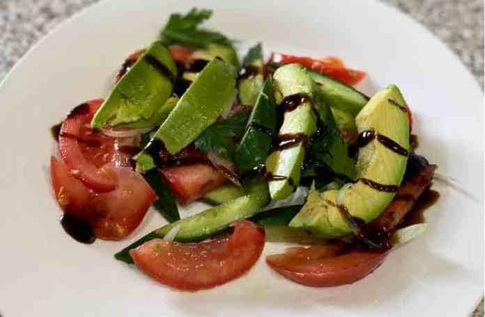 sveta avocado salad