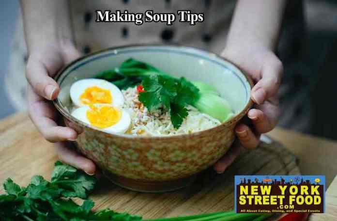 making soups