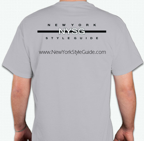 New York Style Guide Shirt Back