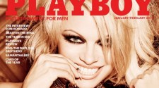 Pamela Anderson Poses for Last Nude Playboy Issue