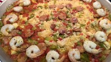 Jambalaya with Chicken, Andouille Sausage and Shrimp