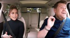 Jennifer Lopez and James Corden Carpool Karaoke