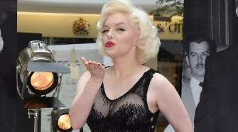 Marilyn Monroe: Legacy Of A Legend Morning Photocall With World's Leading Lookalike Suzie Kennedy