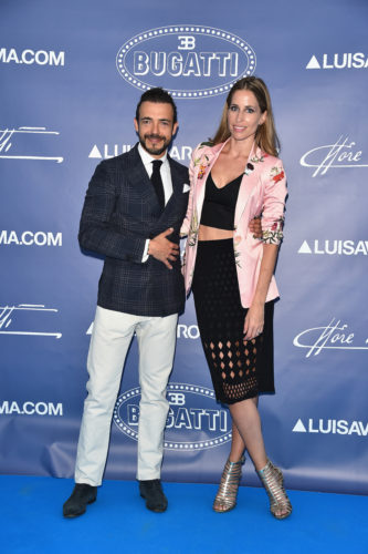 FLORENCE, ITALY - JUNE 14: Marco Tolentino and Elke Palmaers attend the 'Ettore Bugatti And LuisaViaRoma Present Ettore Bugatti's Underwater Love' at Firenze4ever 13th Edition hosted by LuisaViaRoma during Pitti 90 on June 14, 2016 in Florence, Italy. (Photo by Stefania D'Alessandro/Getty Images for LuisaViaRoma ) *** Local Caption *** Marco Tolentino; Elke Palmaers