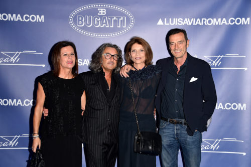 FLORENCE, ITALY - JUNE 14: Daniele Andretta and guests attend the 'Ettore Bugatti And LuisaViaRoma Present Ettore Bugatti's Underwater Love' at Firenze4ever 13th Edition hosted by LuisaViaRoma during Pitti 90 on June 14, 2016 in Florence, Italy. (Photo by Stefania D'Alessandro/Getty Images for LuisaViaRoma ) *** Local Caption *** Daniele Andretta