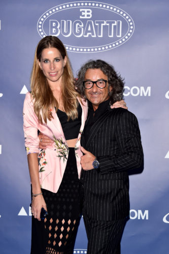 FLORENCE, ITALY - JUNE 14: Elke Palmaers and Daniele Andretta attend the 'Ettore Bugatti And LuisaViaRoma Present Ettore Bugatti's Underwater Love' at Firenze4ever 13th Edition hosted by LuisaViaRoma during Pitti 90 on June 14, 2016 in Florence, Italy. (Photo by Stefania D'Alessandro/Getty Images for LuisaViaRoma ) *** Local Caption *** Daniele Andretta; Elke Palmaers