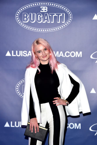 FLORENCE, ITALY - JUNE 14: Grace Chatto of Clean Bandit attends the 'Ettore Bugatti And LuisaViaRoma Present Ettore Bugatti's Underwater Love' at Firenze4ever 13th Edition hosted by LuisaViaRoma during Pitti 90 on June 14, 2016 in Florence, Italy. (Photo by Stefania D'Alessandro/Getty Images for LuisaViaRoma ) *** Local Caption *** Grace Chatto