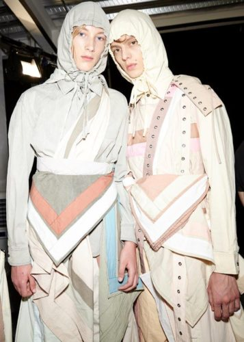 Craig Green SS17 (Sam Wilson, British Fashion Council) Backstage