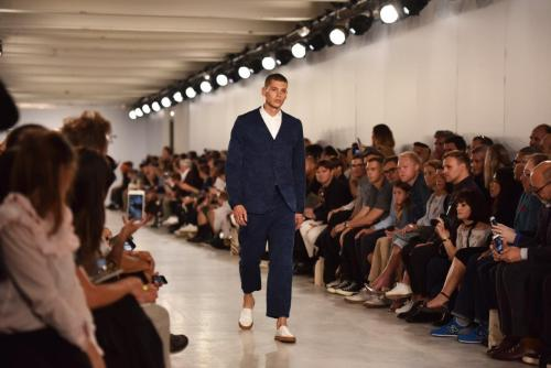 Oliver Spencer SS17 (Nigel Pacquette, British Fashion Council) FOH