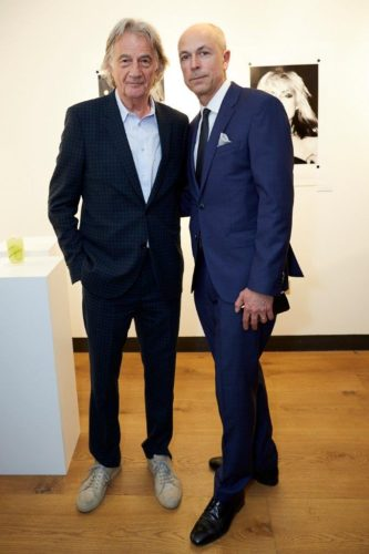 Paul Smith & Dylan Jones OBE at Punk London Event (Shaun James Cox, British Fashion Council)