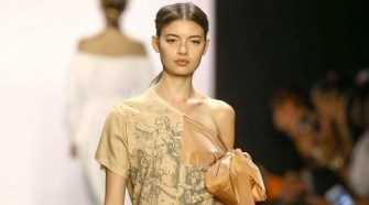 FRANCESCA LIBERATORE AT NEW YORK FASHION WEEK SS17 COLLECTION