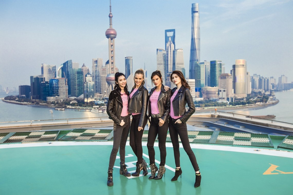 Victoria's Secret Angels Celebrate First Stores in China