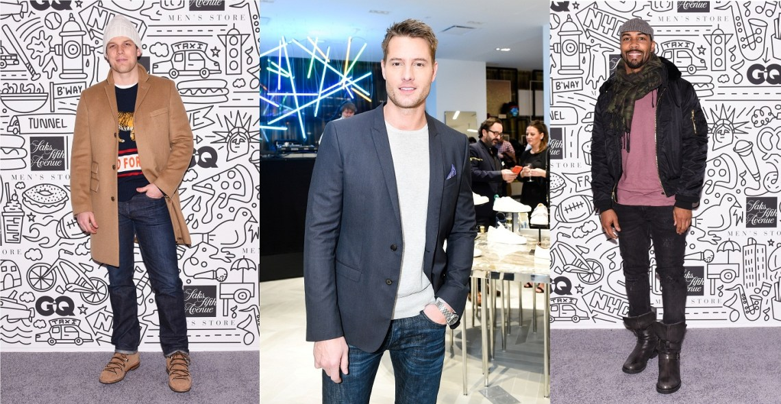 Omari Hardwick by BFA for Saks Fifth Ave | Justin Hartley by BFA for Saks Fifth Avenue | Jake Lacy by BFA for Saks Fifth Avenue