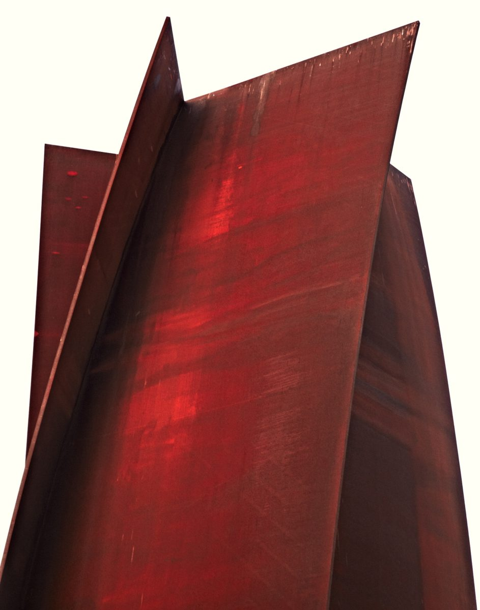 Richard Serra's Connector ©Adrian Gaut