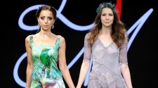 Lily Marotto Runway Wearing