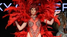 Rocky Gathercole at Art Hearts Fashion LA Fashion Week