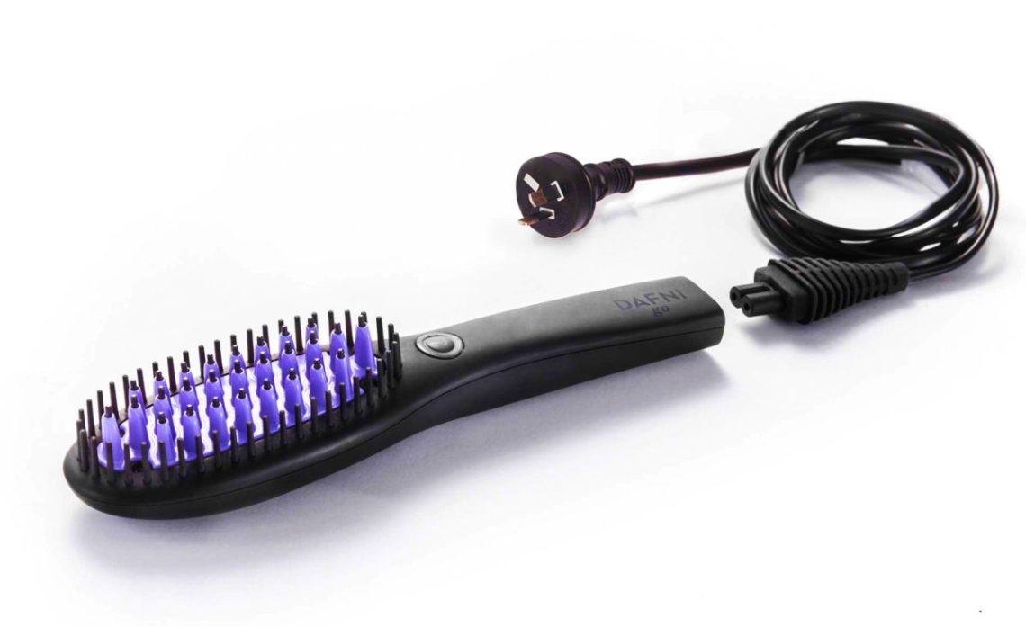 DAFNI go Hair Straightening Brush