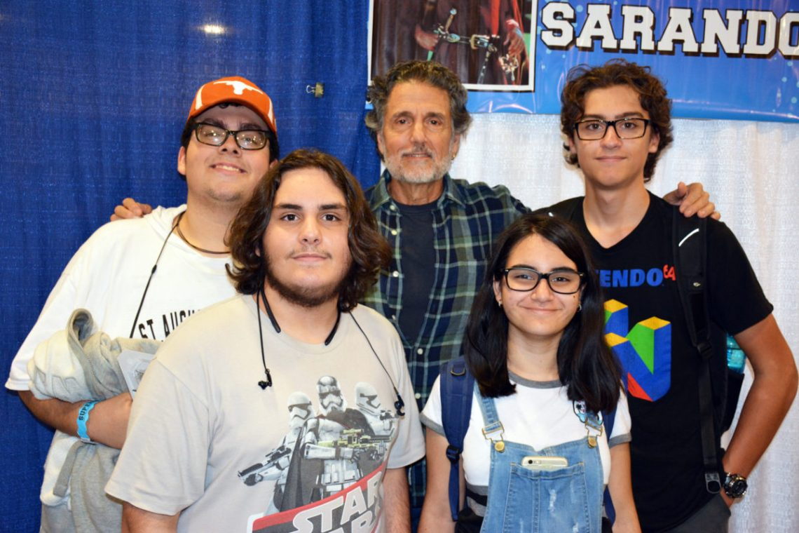 Chris Sarandon with Fans at Florida Supercon