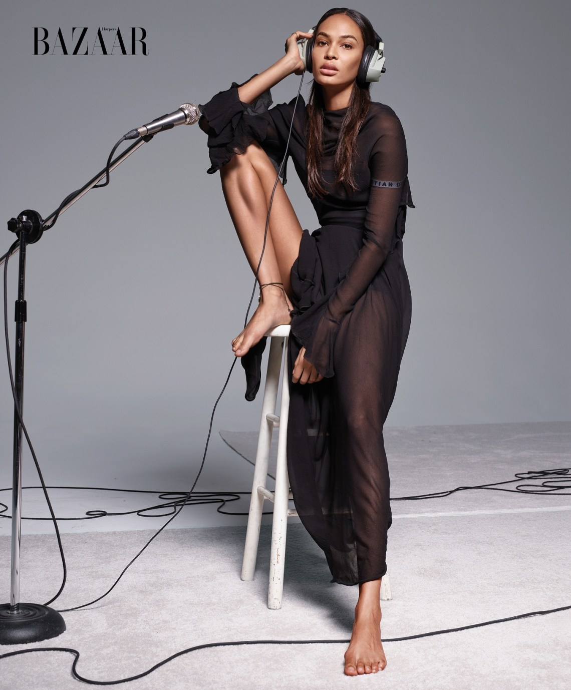 Harper's BAZAAR ICONS Issue Joan Smalls