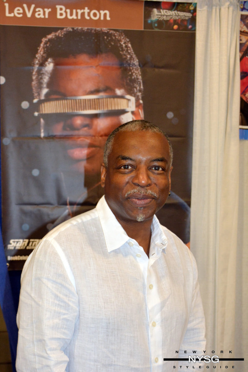 LeVar Burton at Florida Supercon - New York Style Guide