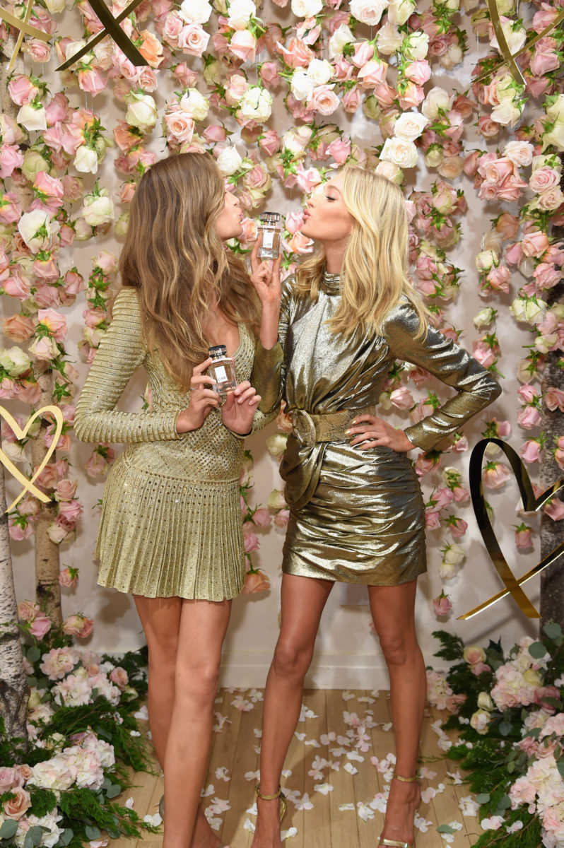 Victoria Secret Angels Josephine Skriver and Elsa Hosk