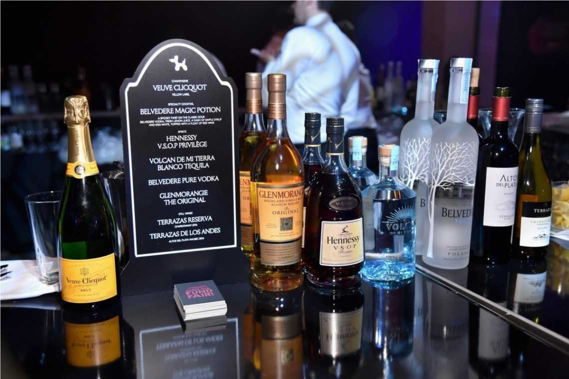 Moët Hennessy Celebrated Halloween as the Official Wine & Spirits Partner of The Fabulous Fund Fair Benefitting the Naked Heart Foundation and amfAR