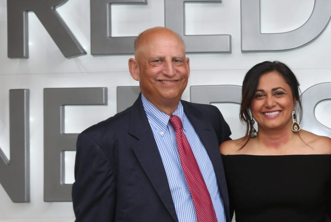 Richard Schechter and Krishna Patel