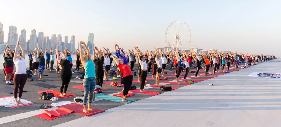 DUBAI CONTINUES ITS QUEST TO BECOME THE MOST ACTIVE CITY IN THE WORLD