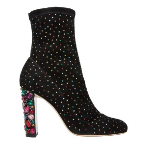 Jimmy Choo scattered crystal bootie