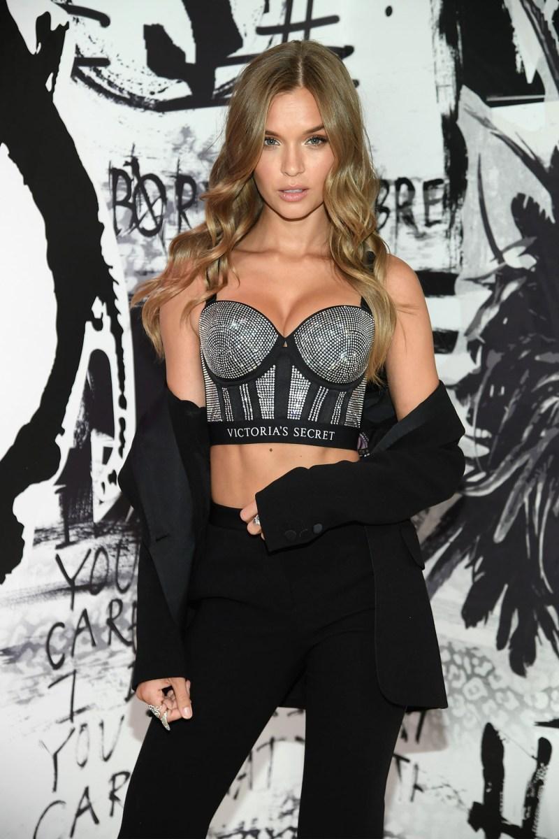Angels Adriana Lima, Jasmine Tookes, Josephine Skriver, Romee Strijd Celebrate The Victoria's Secret Fashion Show And The New VS X BALMAIN
