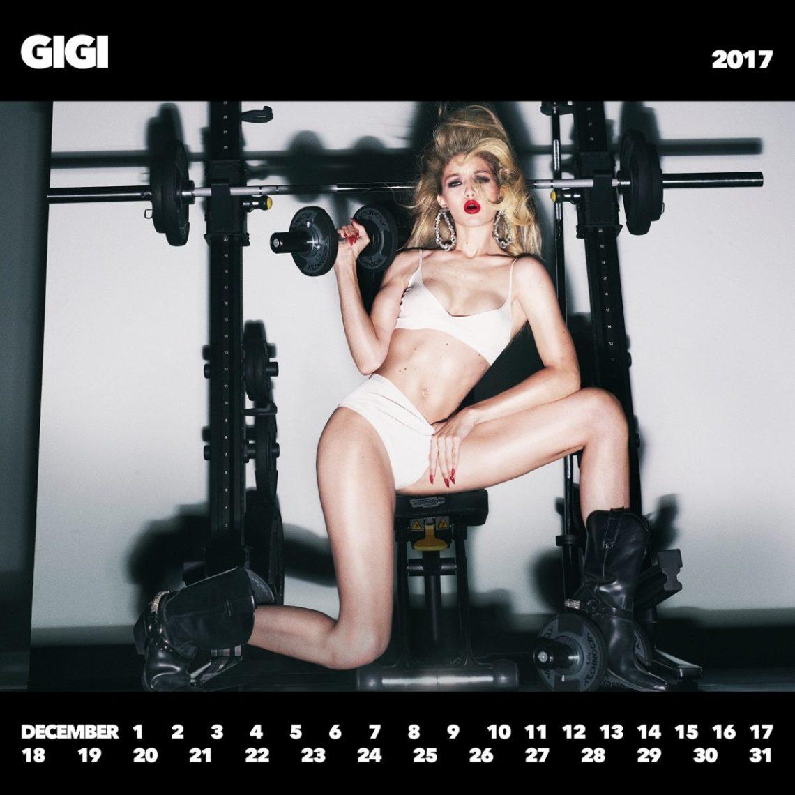 CR Girls 2018 with Technogym Gigi Hadid